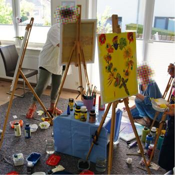 Bring Farbe in dein Leben – Gudrun Ackermann und Sabine Willach